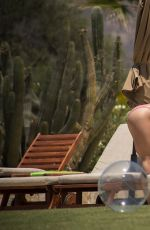 DANIELLE CAMPBELL in Bikinis on Vacation in Cabo San Lucas 06/18/2017