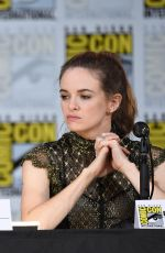 DANIELLE PANABAKER at The Flash Panel at Comic-con in San Diego 07/22/2017