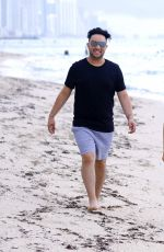 DAPHNE JOY in Bikini at a Beach in Miami 07/28/2017