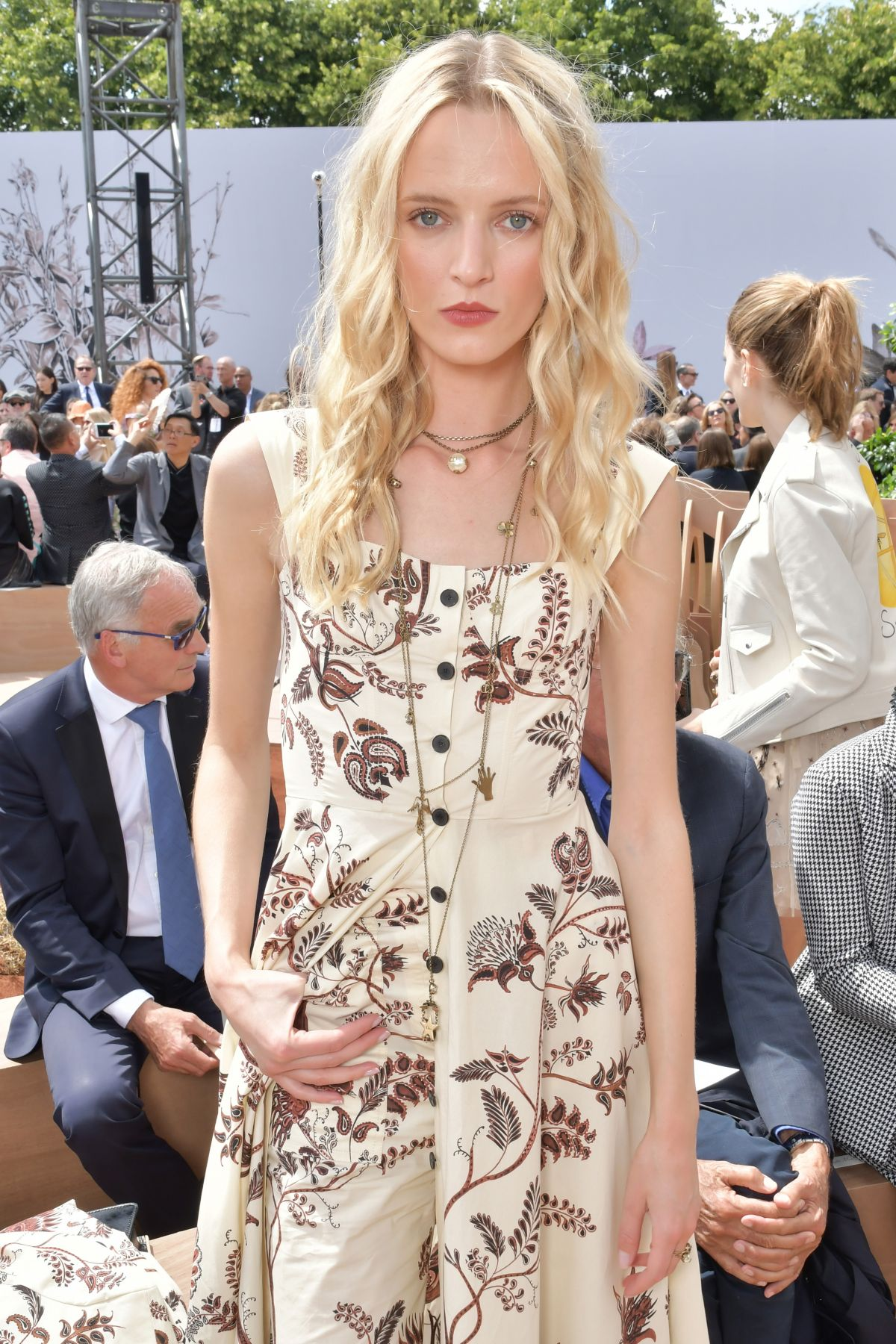 DARIA STROKOUS at Christian Dior Show at Haute Couture Fashion Week in Paris 07/03/2017