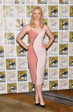 DEBORAH ANN WOLL at The Defenders Press Line at Comic-con in San Diego 07/21/2017