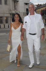 DEE THRESHER at Beauty Industry White Party in London 07/08/2017