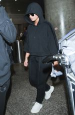 DEMI LOVATO at LAX Airport in Los Angeles 07/07/2017