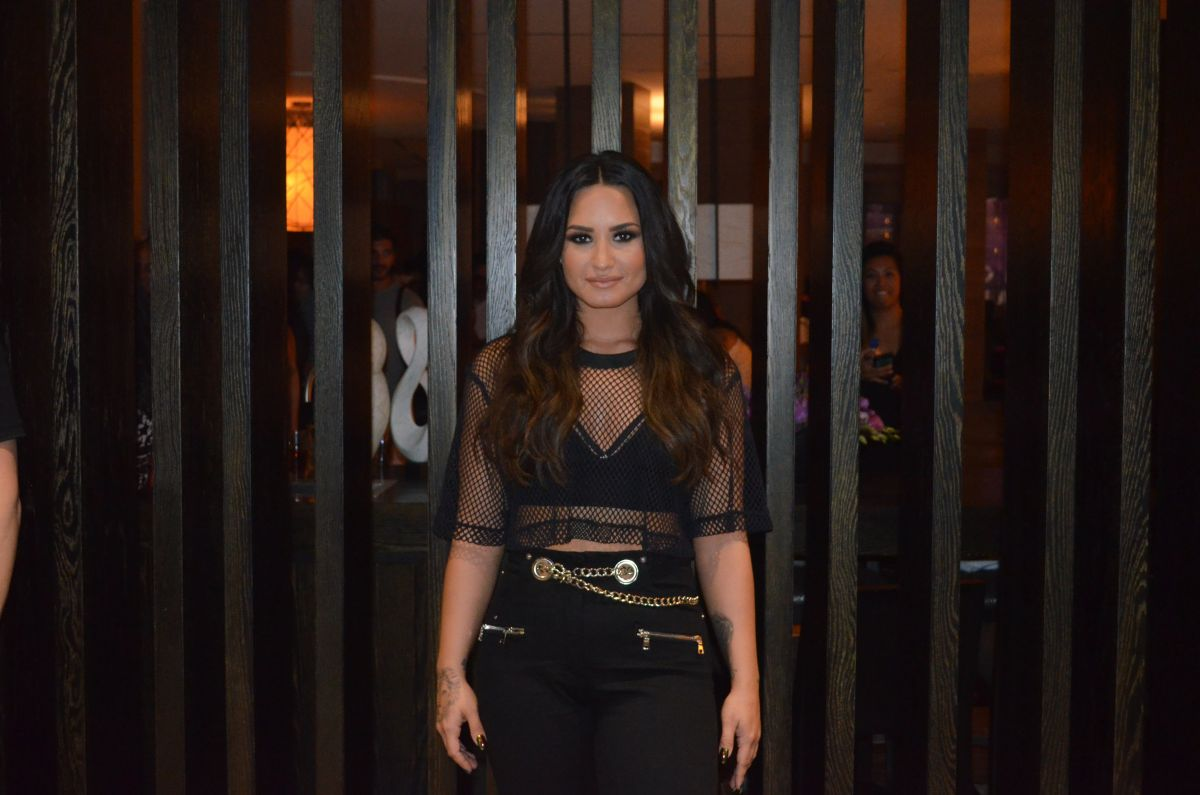 DEMI LOVATO at XS Nightclub in Las Vegas 07/14/2017