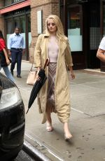 DIANNA AGRON Out and About in New York 07/07/2017