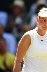 DONNA VEKIC at Wimbledon Championships 07/04/2017