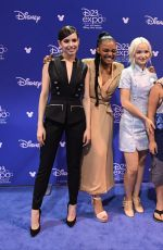 DOVE CAMERON at Disney's D23 Expo 2017 in Anaheim 07/15/2017