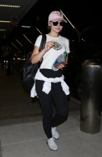DOVE CAMERON at LAX Airport in Los Angeles 07/20/2017