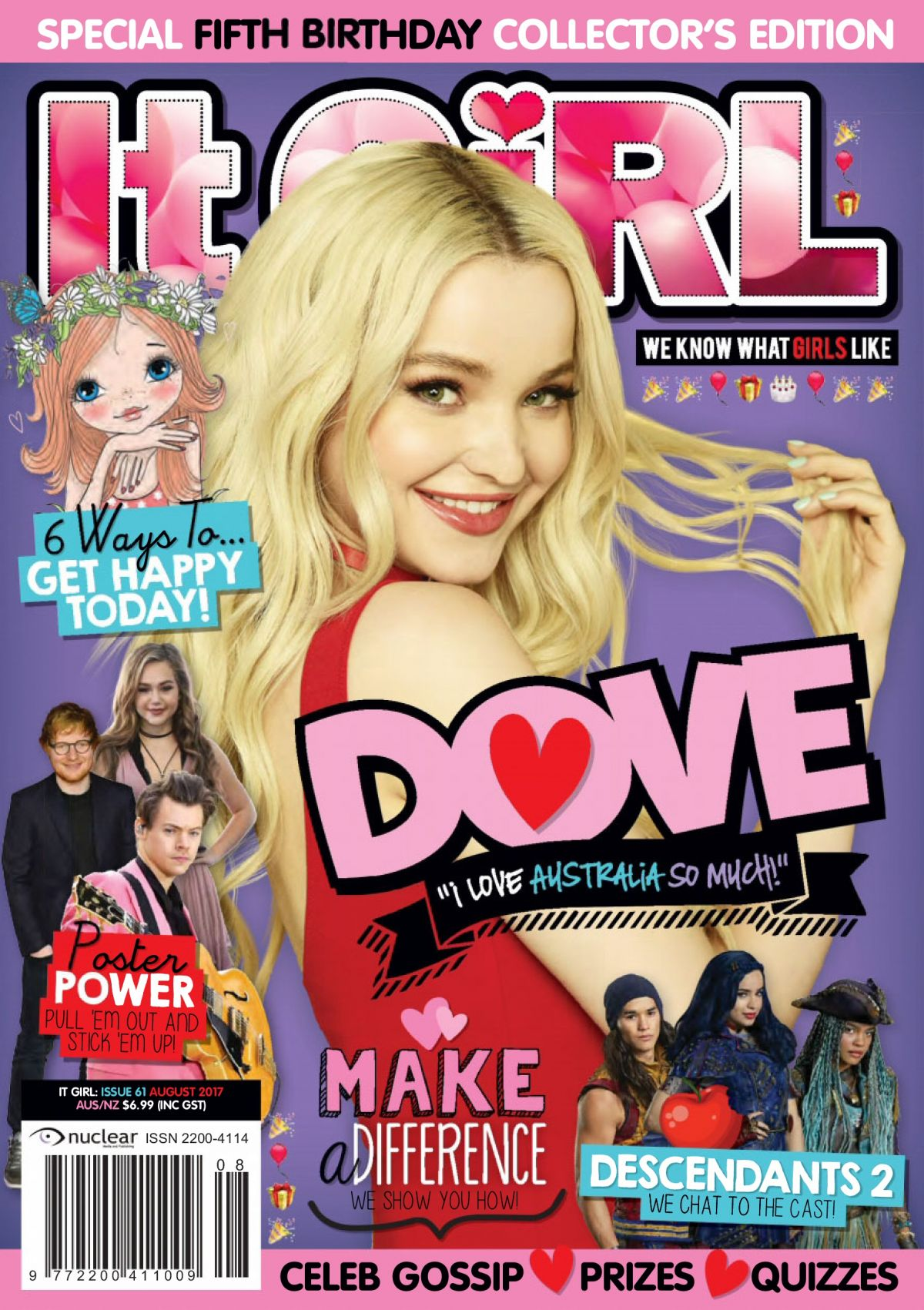 DOVE CAMERON in IT Girl Magazine, August 2017