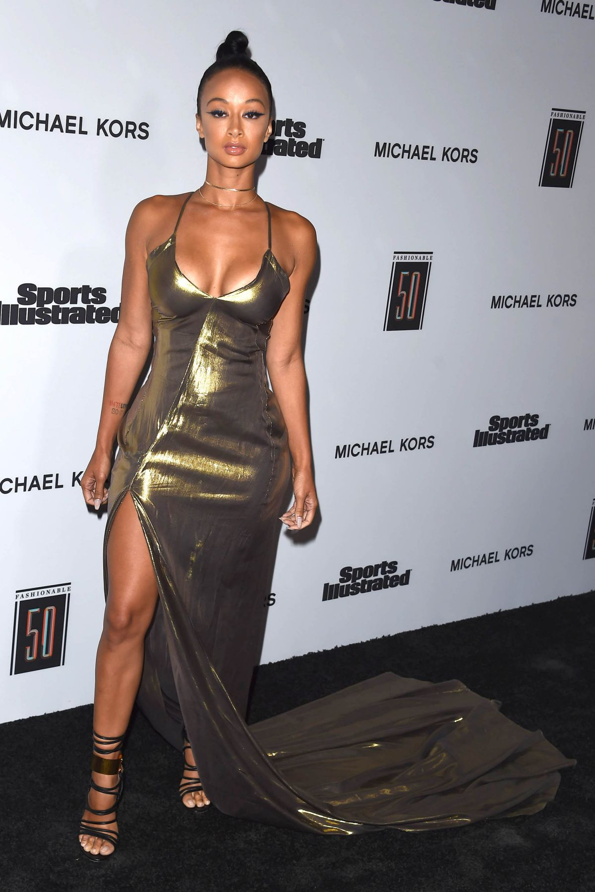 DRAYA MICHELE at Sports Illustrated 2017 Fashionable 50 ...