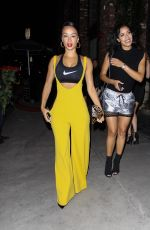 DRAYA MITCHELE at Tao Beauty & Essex in Hollywood 07/02/2017