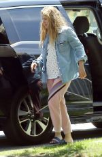 DREW BARRYMORE Out in Los Angeles 07/13/2017