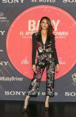 EIZA GONZALEZ at Baby Driver Premiere in Mexico City 07/26/2017