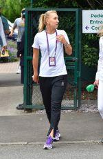 ELENA VESNINA at Wimbledon Championships in London 07/04/2017