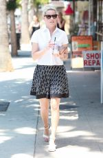ELIZABETH BANKS Out and About in Los Angeles 07/21/2017