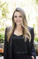 ELIZABETH OLSEN at Wind River Photocall in Los Angeles 07/26/2017
