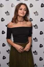 ELLA PURNELL at Access All Areas Premiere at Rich Mix 07/01/2017