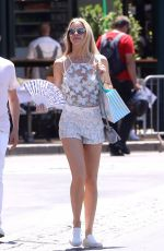 ELLE EVANS Out and About in Saint Tropez 07/06/2017