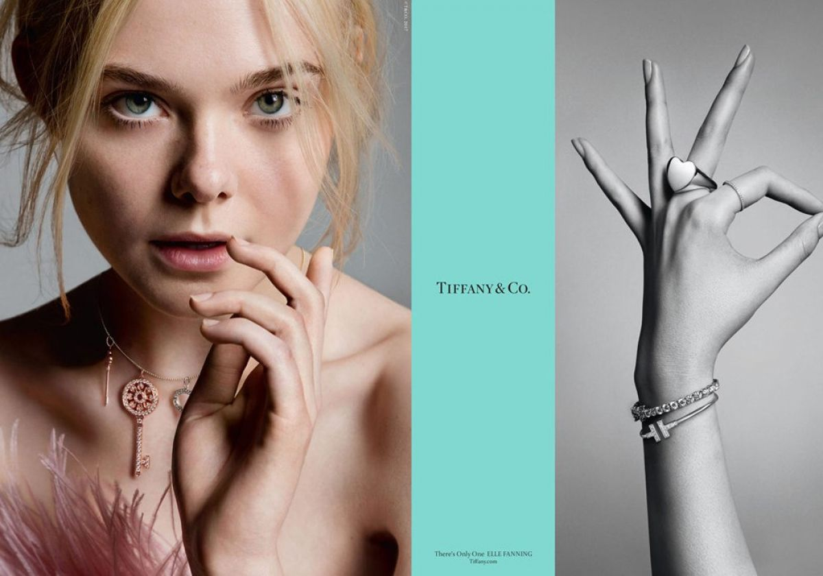 ELLE FANNING for Tiffany & Co Fall 2017 Campaign