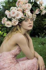 ELLE FANNING in Vanity Fair Magazine, Italy June 2017