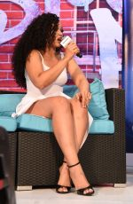 ELLE VARNER at SiriusXM Radio Interview at Essence Festival in New Orleans 07/01/207