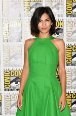 ELODIE YOUNG at The Defenders Press Line at Comic-con in San Diego 07/21/2017