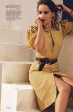EMILIA CLARKE in Elle Magazine, August 2017