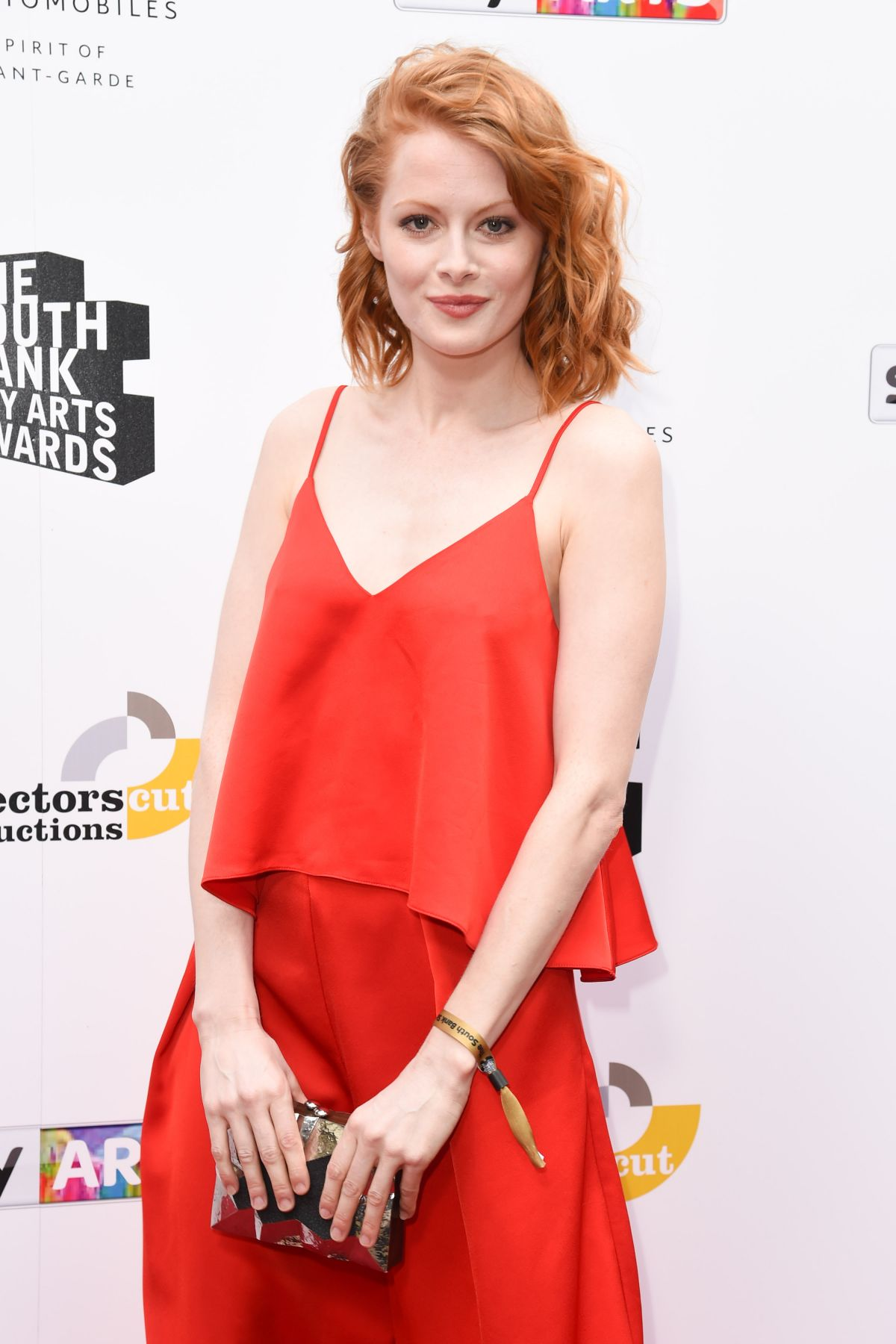 EMILY BEECHAM at South Bank Sky Arts Awards in London 07/09/2017