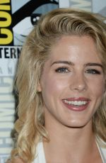 EMILY BETT RICKARDS at Arrow Press Line at Comic-con in San Diego 07/22/2017