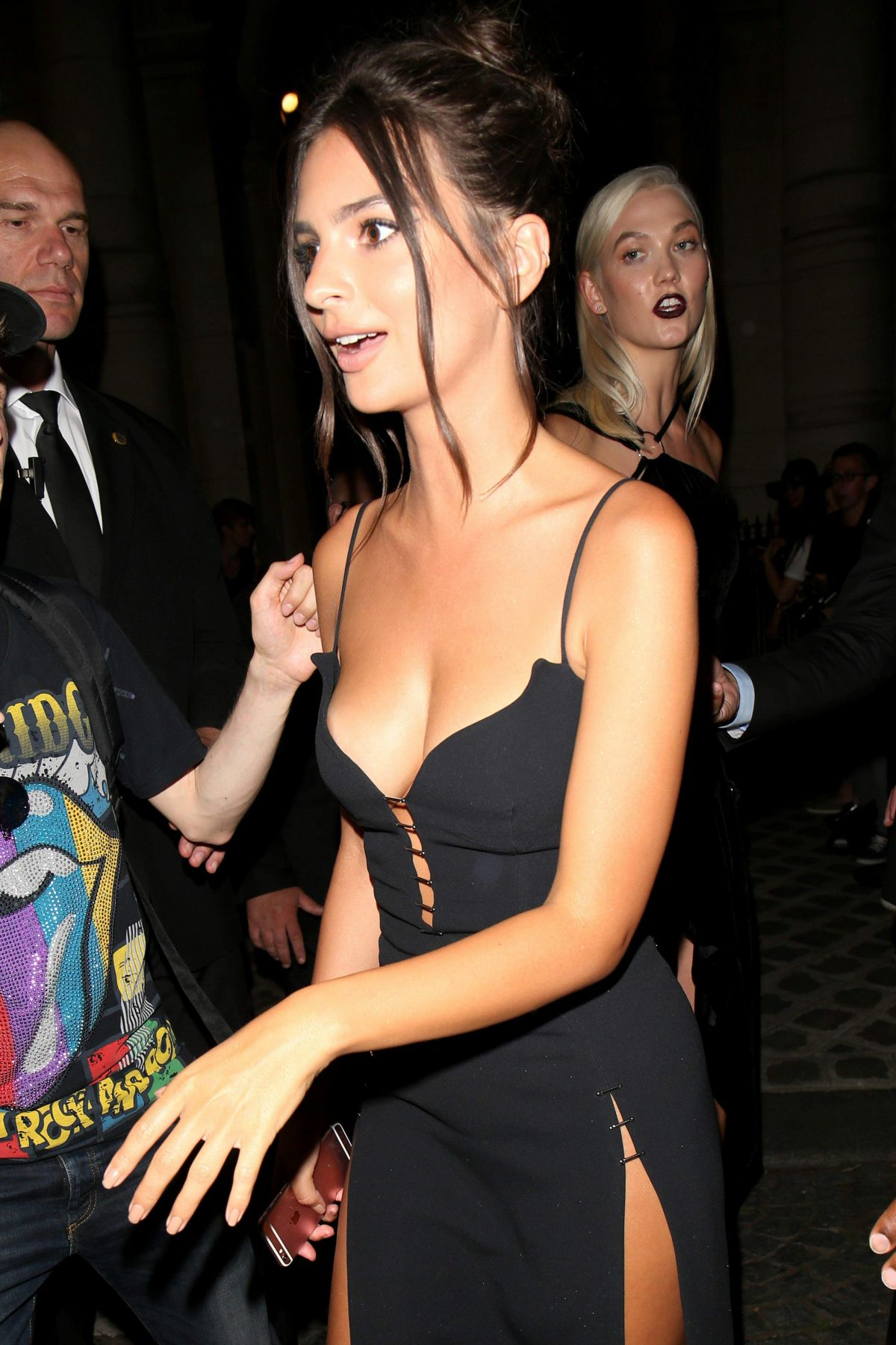 EMILY RATAJKOWSKI at Vogue Party at Paris Fashion Week 07/04/2017