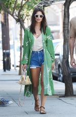 EMILY RATAJKOWSKI in Denim Shorts Out in Los Angeles 07/11/2017