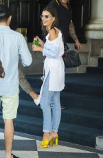 EMILY RATAJKOWSKI Out and About in New York 07/10/2017