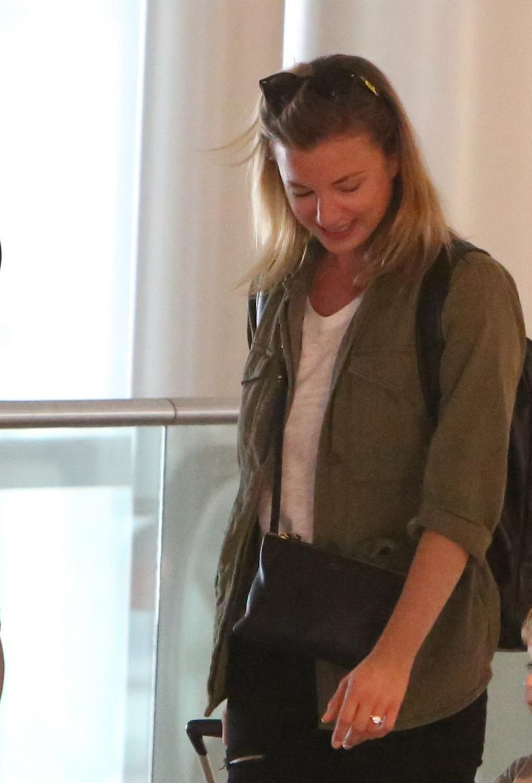 EMILY VANCAMP at Toronto Airport 07/09/2017 - HawtCelebs