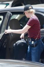 EMMA STONE Heading to a Meeting in Beverly Hills 06/30/2017