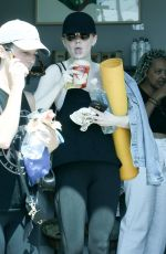 EMMA STONE Heading to Yoga Class in Los Angeles 06/30/2017