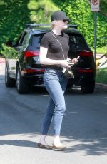 EMMA STONE Out in Los Angeles 07/11/2017