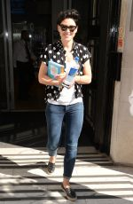 EMMA WILLIS Leaves BBC Radio 2 Studios in London 07/07/2017