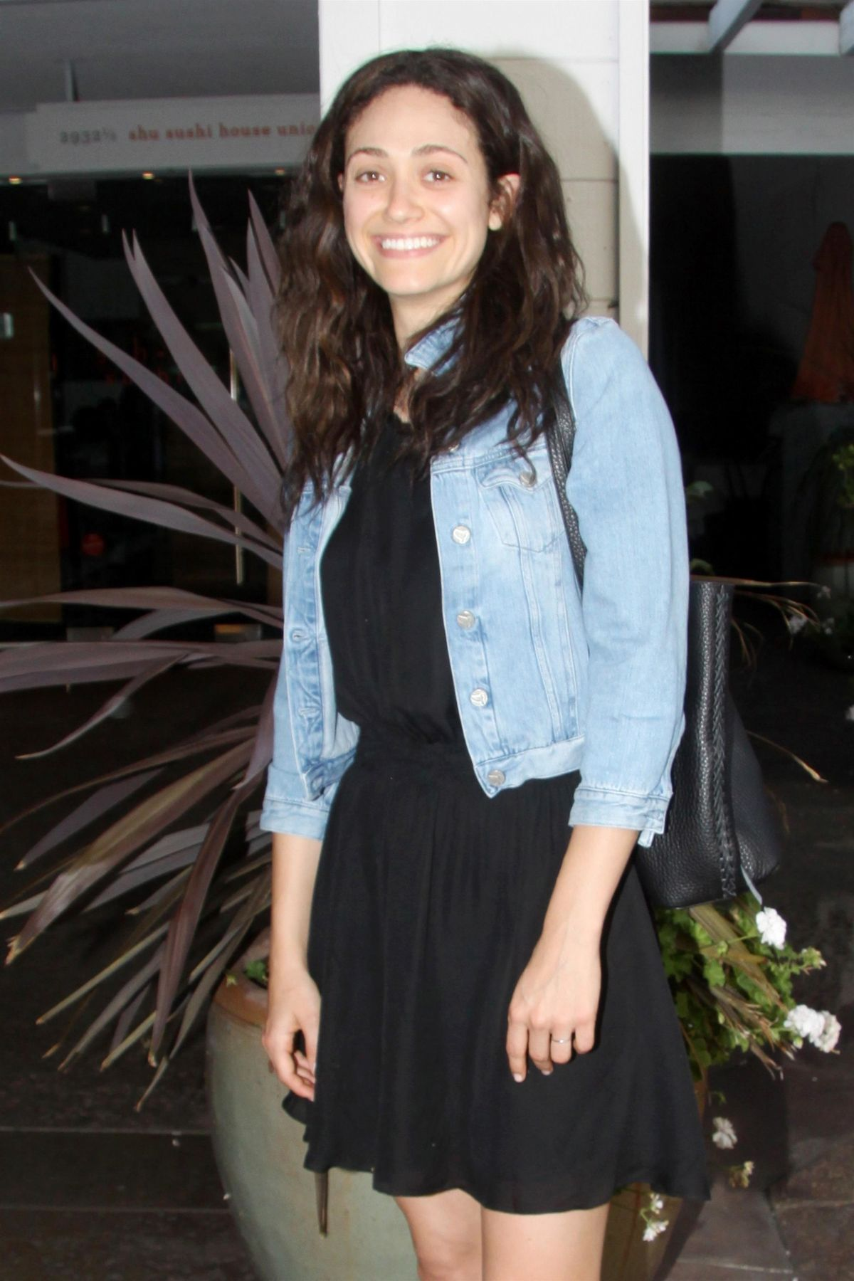 EMMY ROSSUM at Vibrato in Los Angeles 07/18/2017