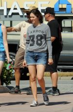 EMMY ROSSUM on the Shameless Set in Pasadena 07/14/2017