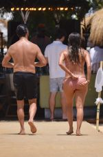 EVA LONGORIA in Bikini on the Beach in Marbella 07/16/2017