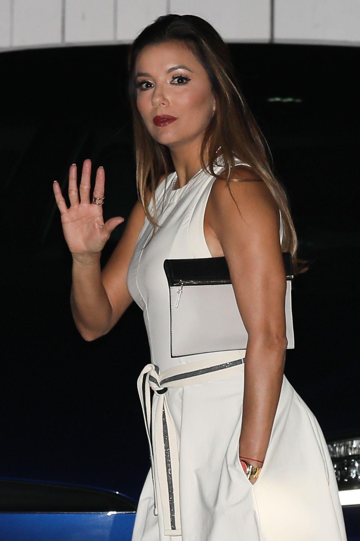 EVA LONGORIA at Giorgio Baldi in Santa Monica 07/29/2017