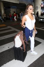 EVA LONGORIA at LAX Airport in Los Angeles 07/28/2017
