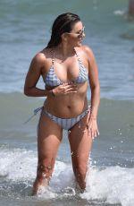 EVA LONGORIA in Bikini at a Beach in Marbella 07/18/2017