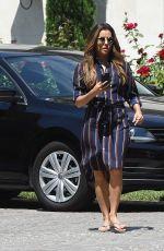 EVA LONGORIA Leaves a Friends House in Los Angeles 07/04/2017