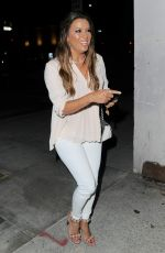 EVA LONGORIA Out for Dinner in Beverly Hills 07/09/2017