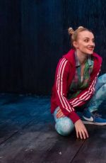 EVANNA LYNCH at Disco Pigs Photocall in London 07/17/2017
