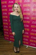 EVANNA LYNCH at Disco Pigs Play in London 07/18/2017