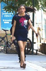 FAMKE JANSSEN Leaves a Gym in New York 07/03/2017
