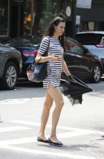 FAMKE JANSSEN Leaves a Gym in New York 07/09/2017