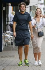 FERNE MCCANN Out and About in Essex 07/19/2017
